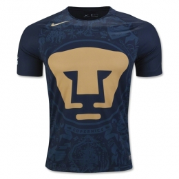 16-17 UNAM Pumas Away Navy Jersey Shirt