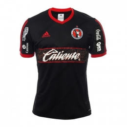 16-17 Club Tijuana Away Black Soccer Jersey Shirt