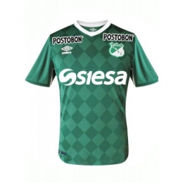 16-17 Deportivo Cali Home Green Jersey Shirt