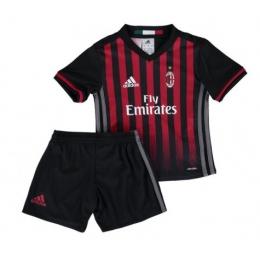 16-17 AC Milan Home Children's Jersey Kit(Shirt+Short)