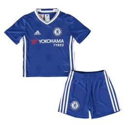 16-17 Chelsea Home Children's Jersey Kit(Shirt+Short)