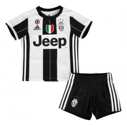 16-17 Juventus Home Children's Jersey Kit(Shirt+Short)