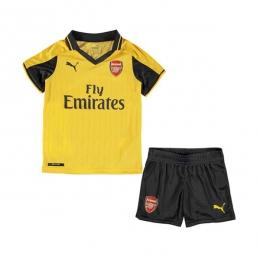 16-17 Arsenal Away Yellow Children's Jersey Kit(Shirt+Short)