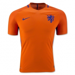 2016 Netherlands Home Soccer Jersey(Player Version)