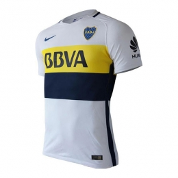 2017 Boca Juniors Away White Soccer Jersey Shirt(Player Version)