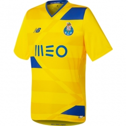 16-17 Porto Away Yellow Soccer Jersey Shirt