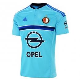 16-17 Feyenoord Away Bule Jersey Shirt