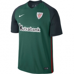 16-17 Athletic Bilbao Away Green Jersey Shirt