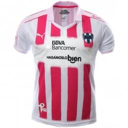 16-17 Monterrey Away Pink&White special Jersey Shirt
