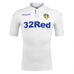 16-17 Leeds United Home White Jersey Shirt