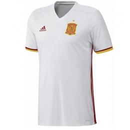 2016-2017 Spain Away White Soccer Jersey Shirt