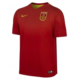 2016 China PR Home Red Soccer Jersey Shirt