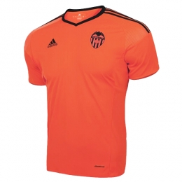 16-17 Valencia Away Orange Soccer Jersey Shirt