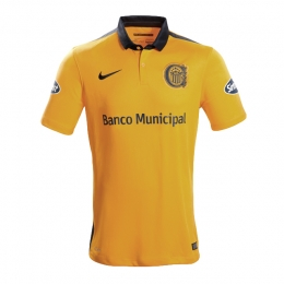 16-17 Rosario Central Away Yellow Jersey Shirt