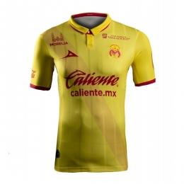 16-17 Monarcas Morelia Home Yellow Jersey Shirt