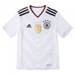 2017 Germany Confed Cup Home White Children's Jersey Kit(Shirt+Short)