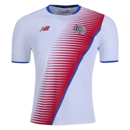 2017-2018 Costa Rica Away Soccer Jersey Shirt