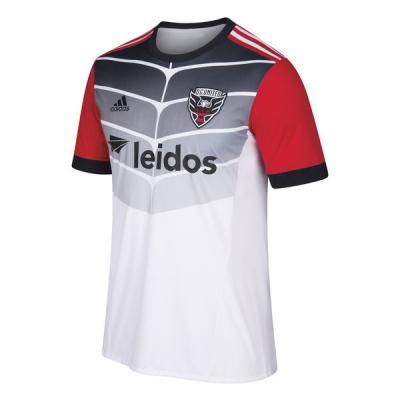 17-18 D.C. United Away White Soccer Jersey Shirt