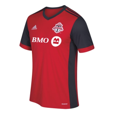17-18 Toronto FC Home Red Soccer Jersey Shirt