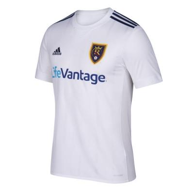 17-18 Real Salt Lake Away White Jersey Shirt