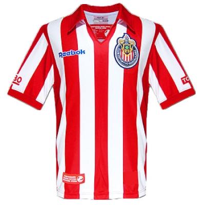 07-08 Deportivo Guadalajara Home Commemorative Jersey Shirt
