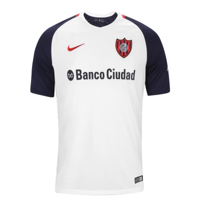 17-18 San Lorenzo Away White Jersey Shirt