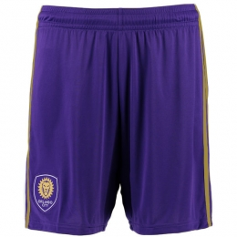 17-18 Orlando City Home Purple Jersey Short