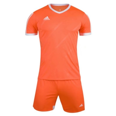 1601 Customize Team Orange Soccer Jersey Kit(Shirt+Short)