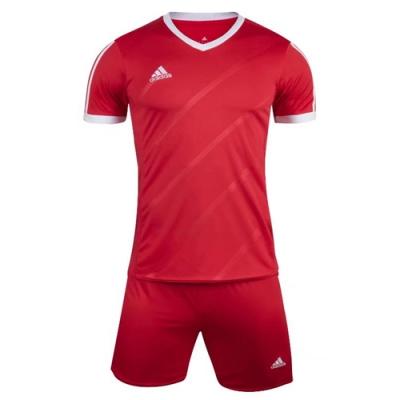 1601 Customize Team Red Soccer Jersey Kit(Shirt+Short)