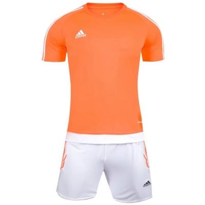 1602 Customize Team Orange Soccer Jersey Kit(Shirt+Short)