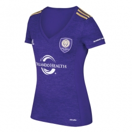 17-18 Orlando City Home Women's Jersey Shirt