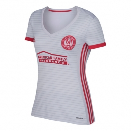 17-18 Atlanta United Away White Women's Jersey Shirt