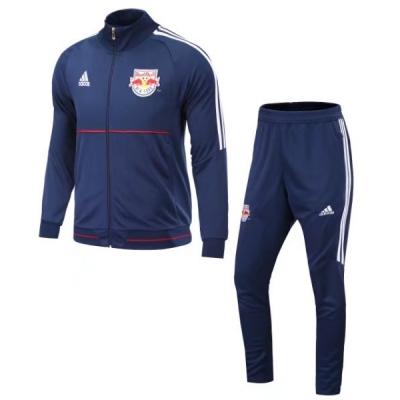 17-18 New York Red Bulls Navy Track Kit(Jacket+Trouser)