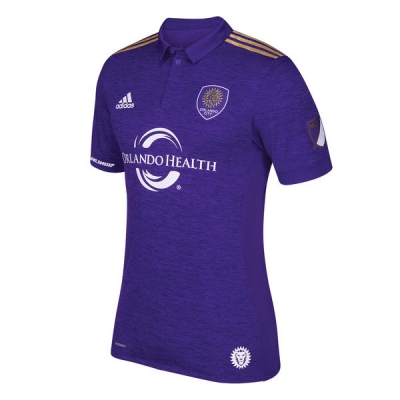 17-18 Orlando City Home Soccer Jersey Shirt