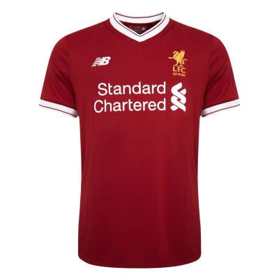 17-18 Liverpool Home Soccer Jersey Shirt