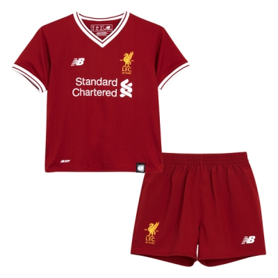 17-18 Liverpool Home Children's Jersey Kit(Shirt+Short)