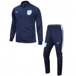 2017 England N98 Navy Training Kit(Jacket+Trouser)