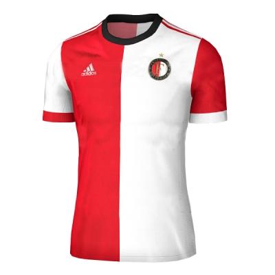 17-18 Feyenoord Home Soccer Jersey Shirt