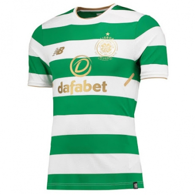 17-18 Celtic Home Soccer Jersey Shirt