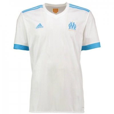 17-18 Marseilles Home White Jersey Shirt