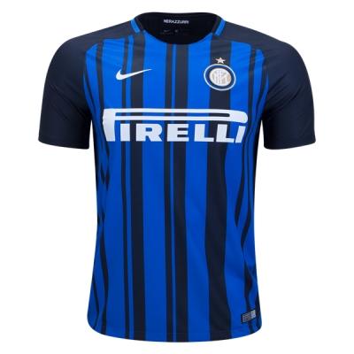 17-18 Inter Milan Home Soccer Jersey Shirt