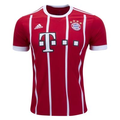 17-18 Bayern Munich Home Jersey Shirt