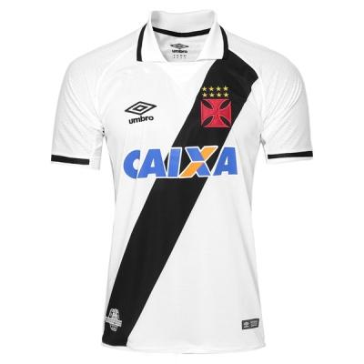 17-18 Vasco da Gama Away White Soccer Jersey Shirt