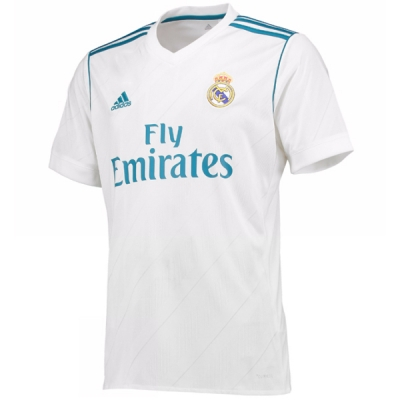 17-18 Real Madrid Home Soccer Jersey Shirt