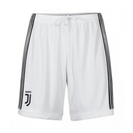 17-18 Juventus Home White Jersey Short