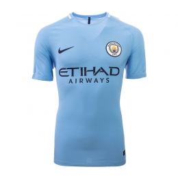 17-18 Manchester City Home Jersey Shirt(Player Version)