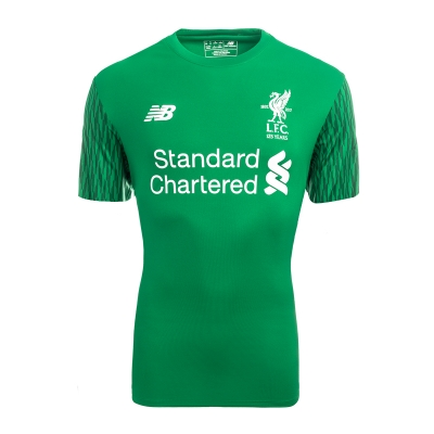 17-18 Liverpool Goalkeeper Green Soccer Jersey Shirt