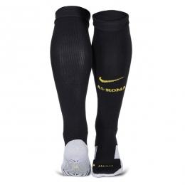 17-18 Roma Home Black Soccer Jersey Socks