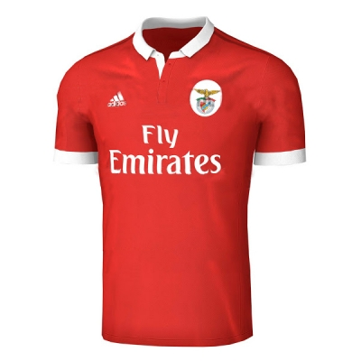 17-18 Benfica Home Red Soccer Jersey Shirt