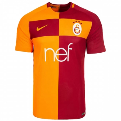 17-18 Galatasaray Home Soccer Jersey Shirt